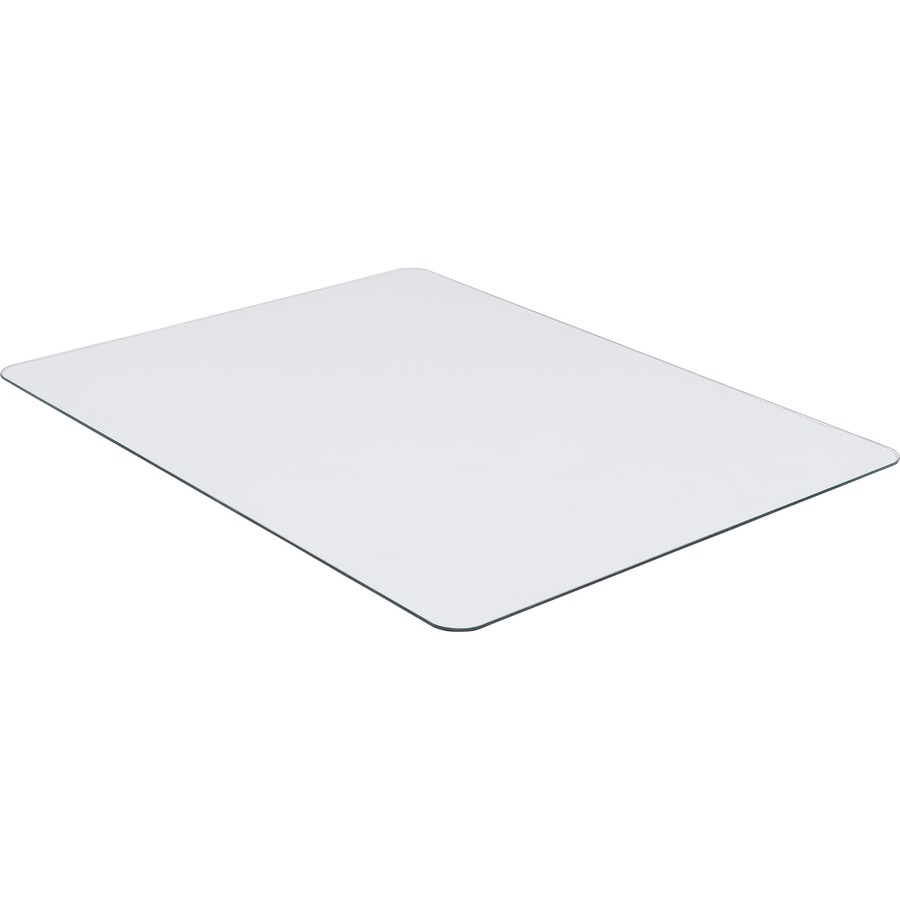 Llr82833 Lorell Tempered Glass Chairmat Floor Pile