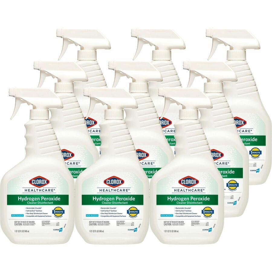 Clorox Healthcare Hydrogen Peroxide Cleaner Liquid 0 25 Gal