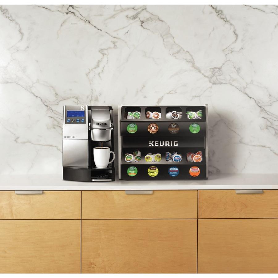 Keurig K3000 Capsule Coffee Machine - 10 fl oz - 4 Cup(s) - Multi-serve