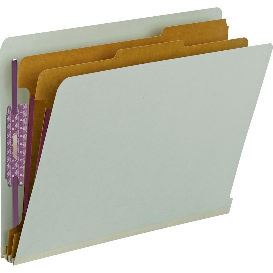 Wholesale End Tab Classification Folders By Smead