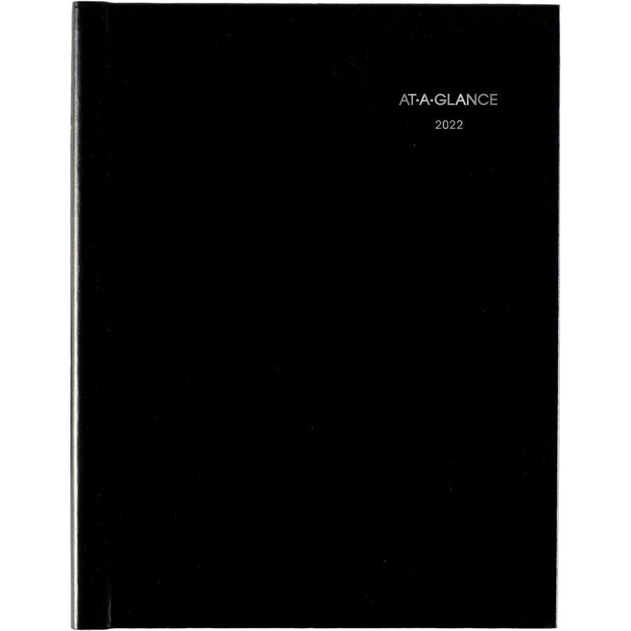 at a glance dayminder hardcover weekly appointment book icc
