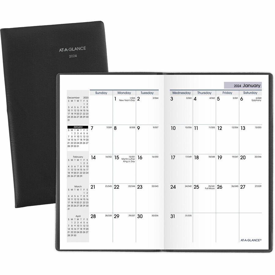 at a glance dayminder monthly pocket planner latsons com