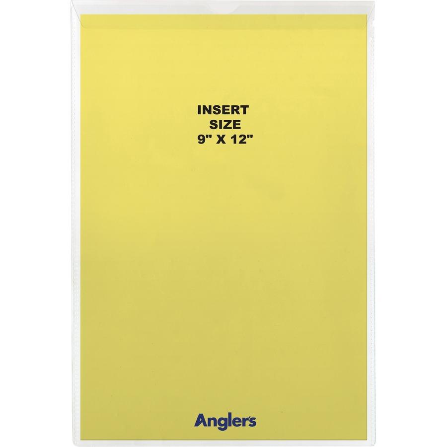 Anglers Sturdi Kleer Vinyl Envelopes With Flaps
