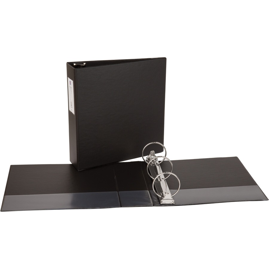 avery economy binders with round rings icc business products