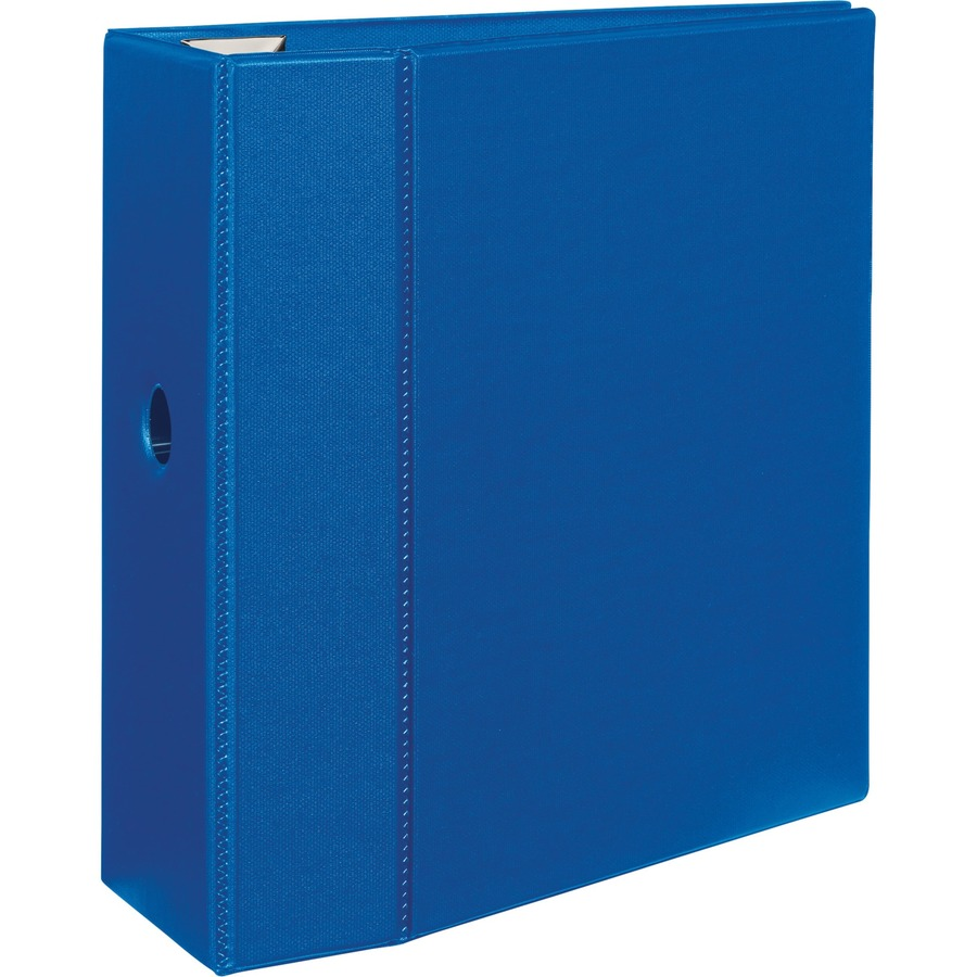 Sold as 1 Each Heavy-Duty Binder with One Touch EZD Rings 4 Capaciy Maroon