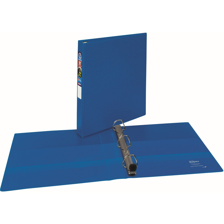 avery heavy duty binders with one touch ezd rings degroot technology