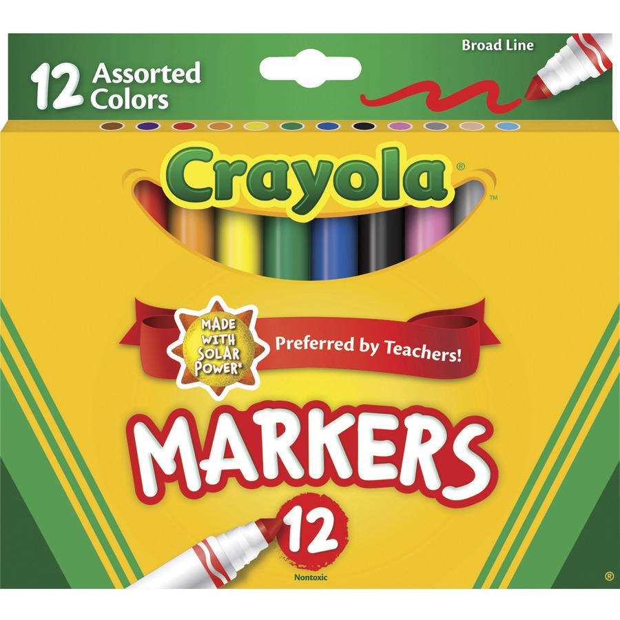 Crayola Broad Tip Classic Markers