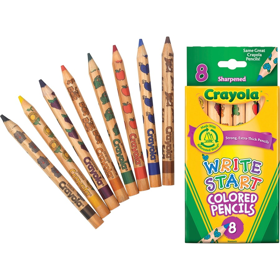 Crayola Write Start Colored Pencil