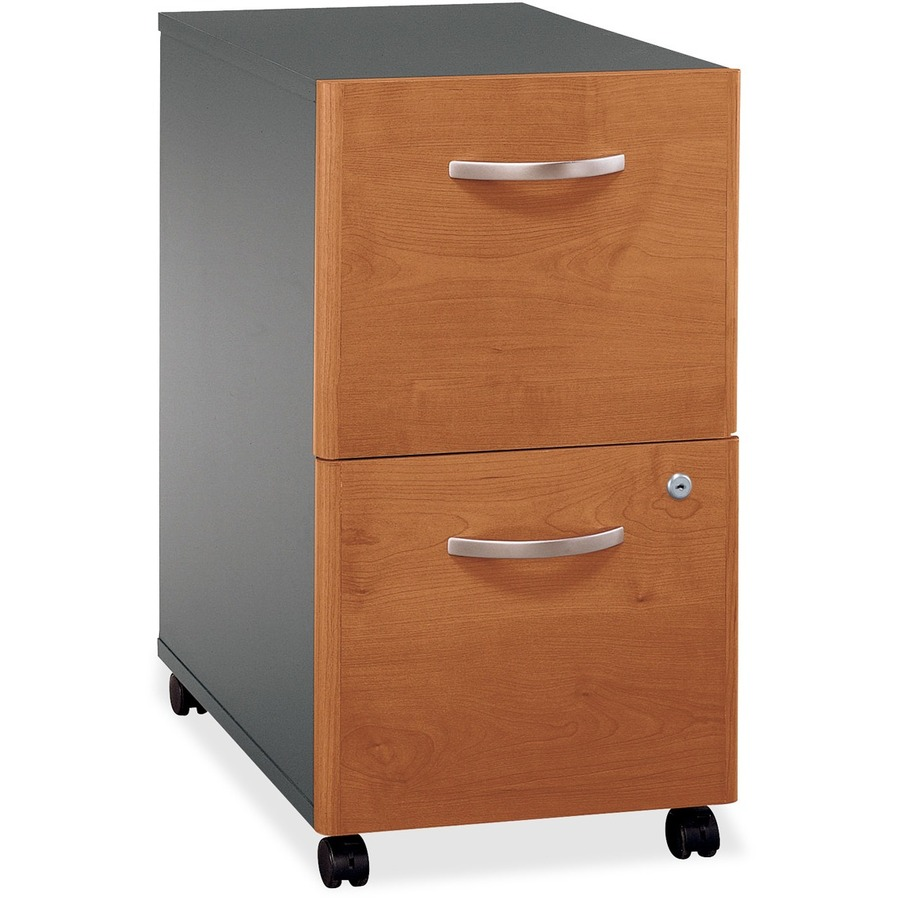 Bush business furniture series c2 drawer mobile pedestal for Mobile furniture