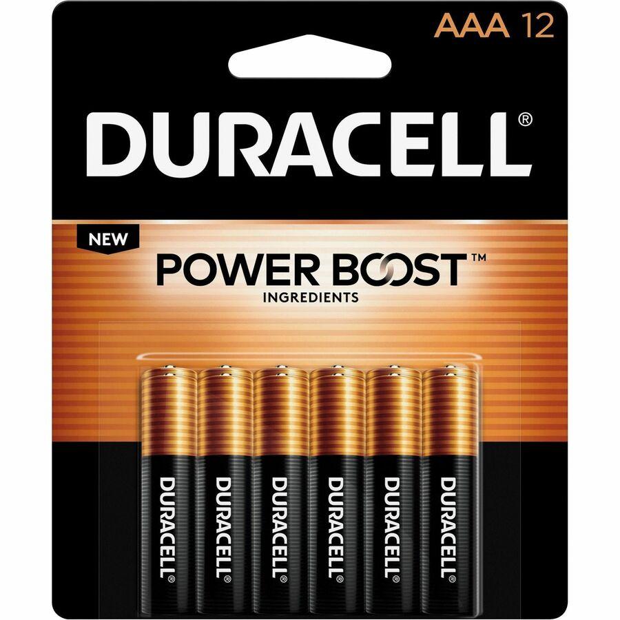 Duracell Coppertop Alkaline Aaa Battery Mn2400 Durmn24rt12z
