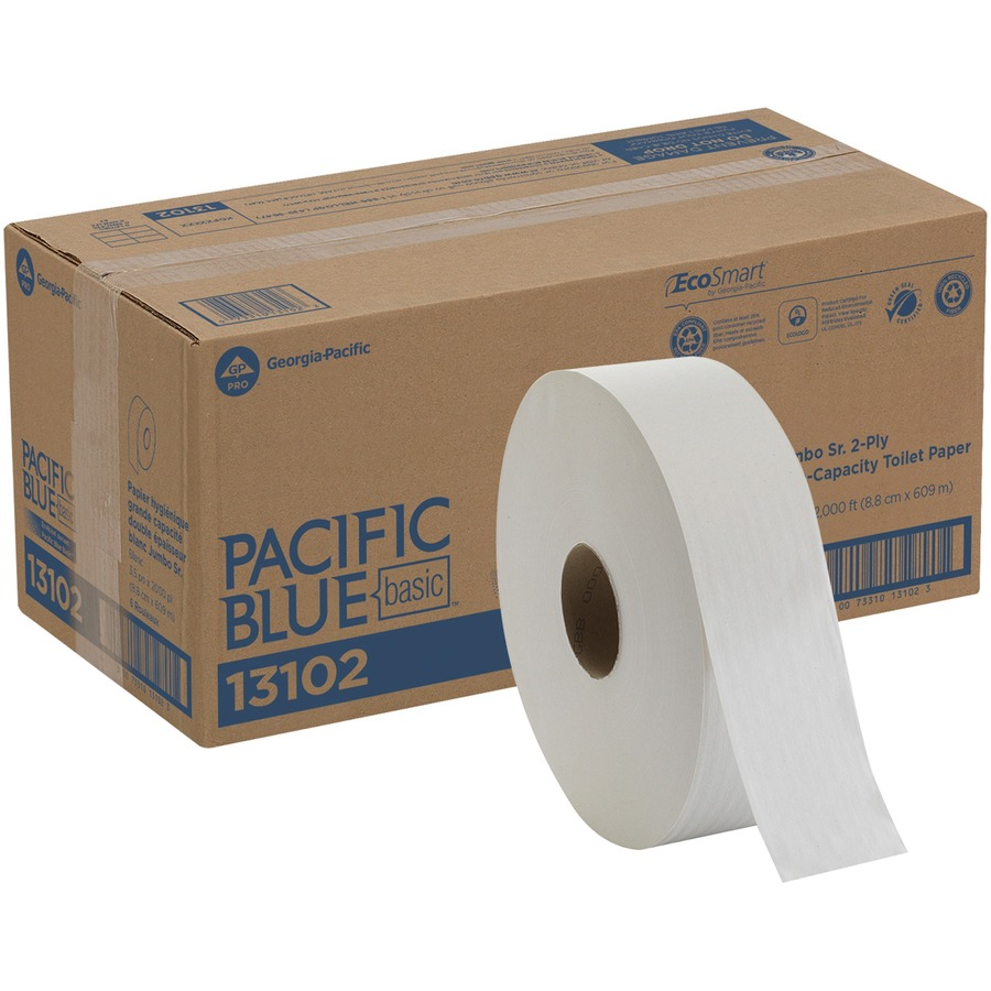 Georgia Pacific Envision Jumbo Sr Bathroom Tissue Gpc13102