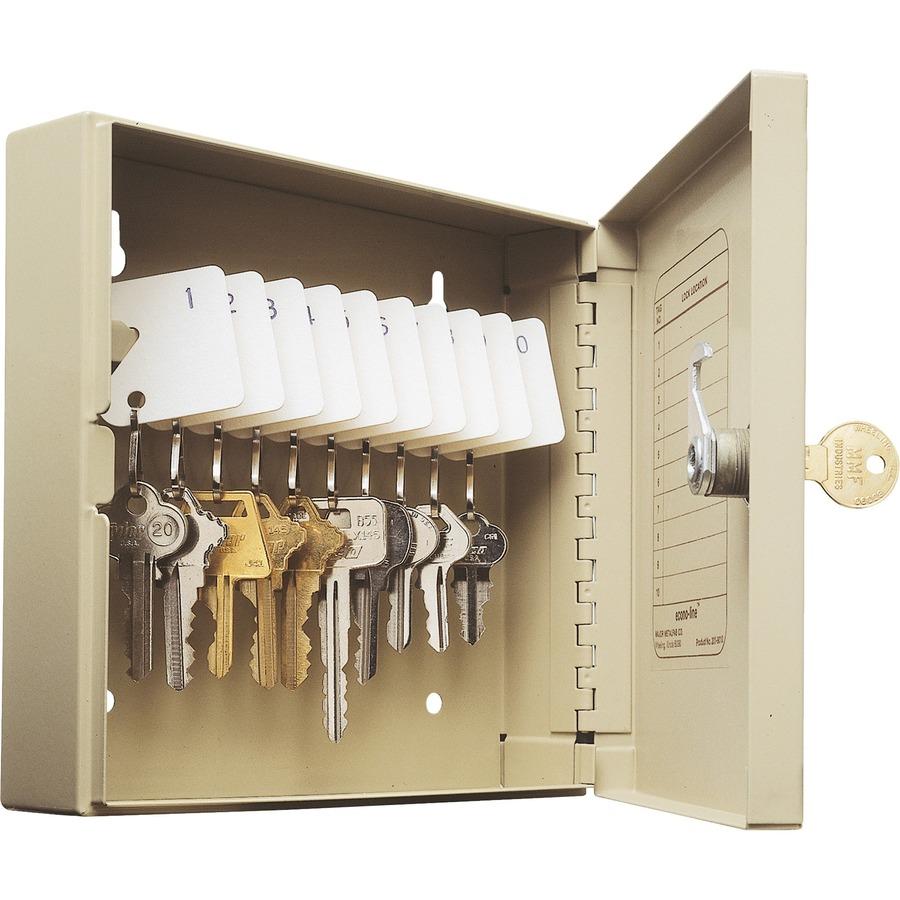 Steelmaster Key Cabinet 10 Key Capacity MMF201901003