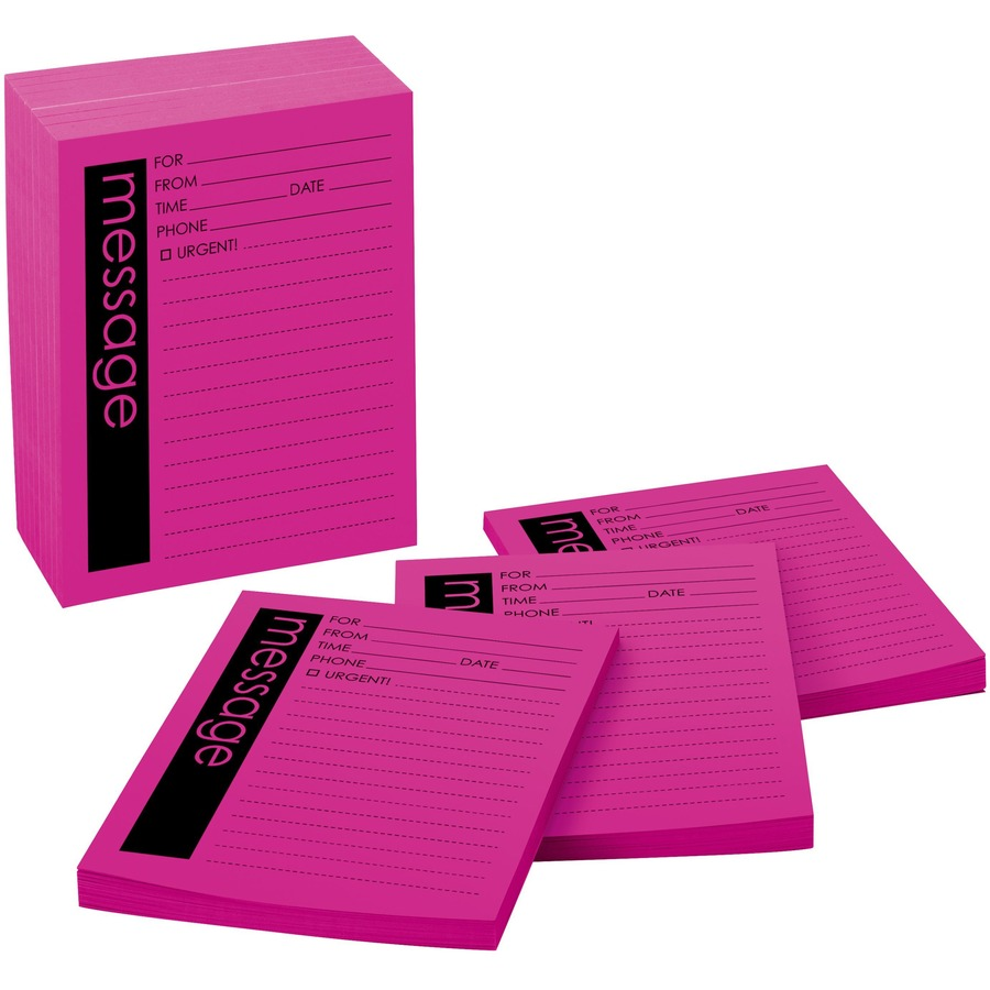 Post-it® Important Telephone Message Pads - 50 Sheet(s) - 5 7/8
