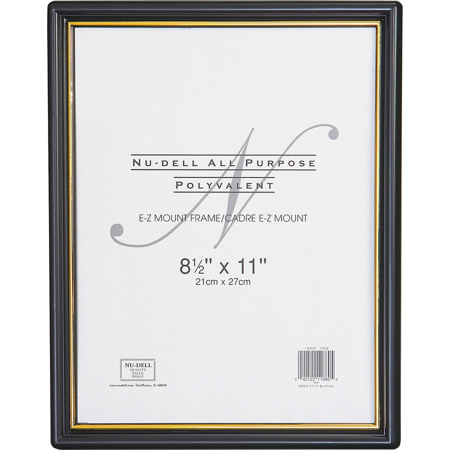 589d8ad5cd39 Nu-Dell EZ Mount Plastic Wall Frame