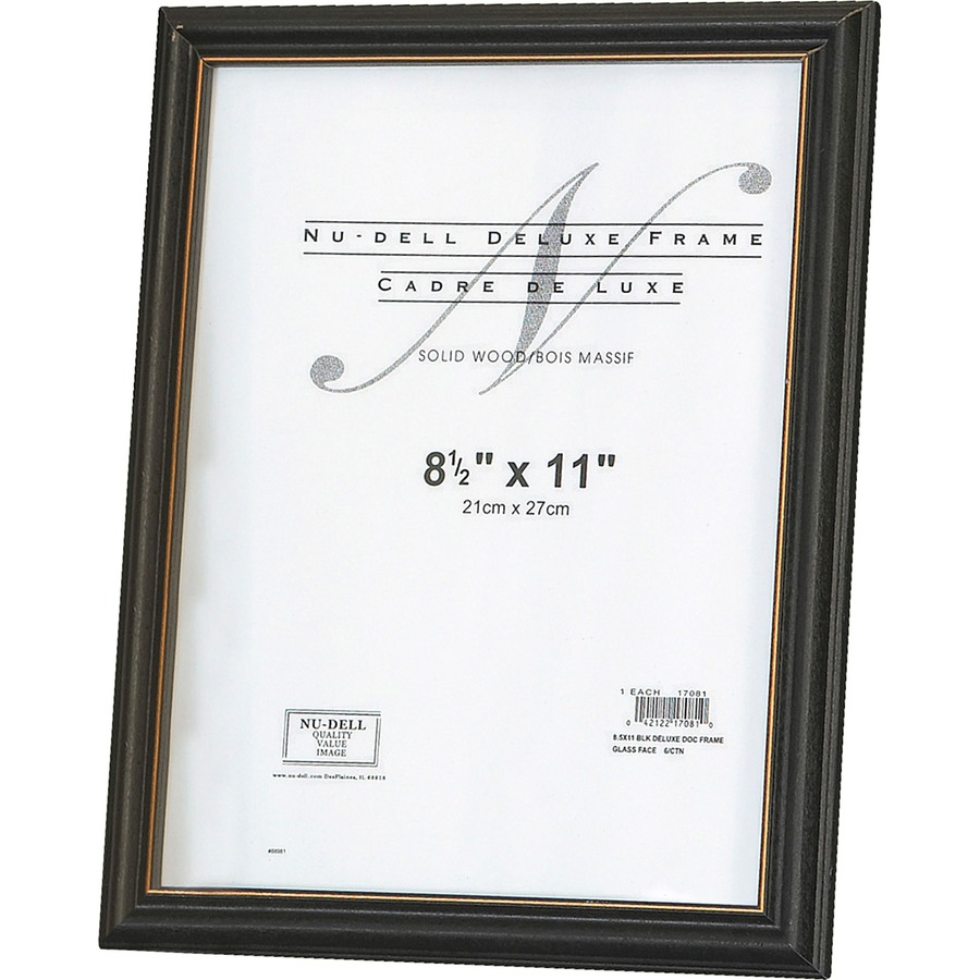 Nu-Dell Deluxe Wall Mount Document Frames - Direct Office Buys