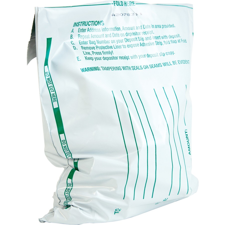 Quality Park Night Deposit Bags Qua45224