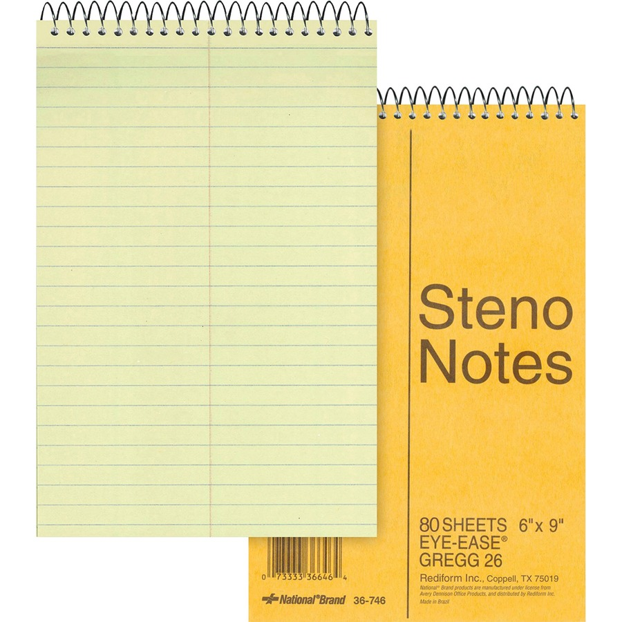 Rediform Eye ease Steno Notebook
