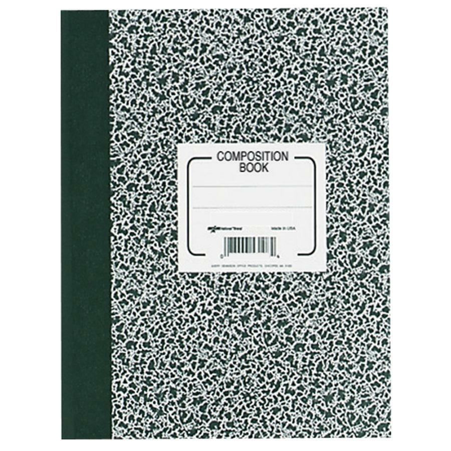 87174035a95f Rediform College Rule Composition Book - 80 Sheets - Sewn - Ruled - 8 3/8