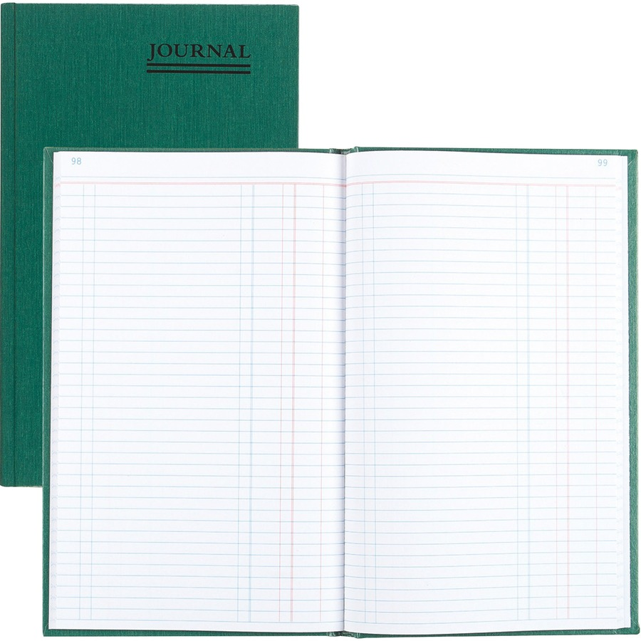 Rediform Emerald Series Hard Cover Journal Book Red56112