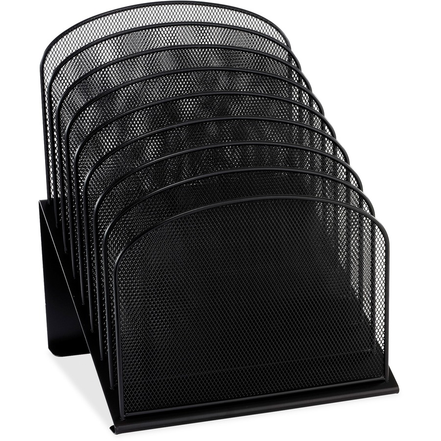 Safco Onyx Wire Mesh Desktop Organizer Saf3258bl