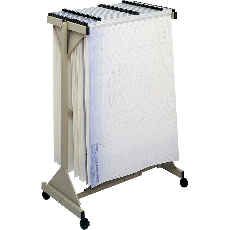 Safco 5060 safco mobile blueprint plan center saf5060 for Plan storage racks