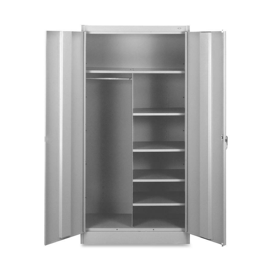Tennsco Combination WardrobeStorage Cabinet