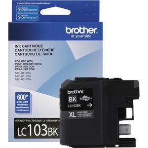 Brother | Brother Genuine Innobella LC103BK High Yield Black Ink