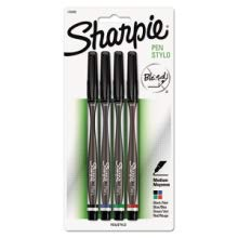 <b>    Sharpie Pen (Medium Point)     </b></br>   Never bleeds through paper and won't smear--the medium point tip is perfect for your bold, everyday writing needs.
