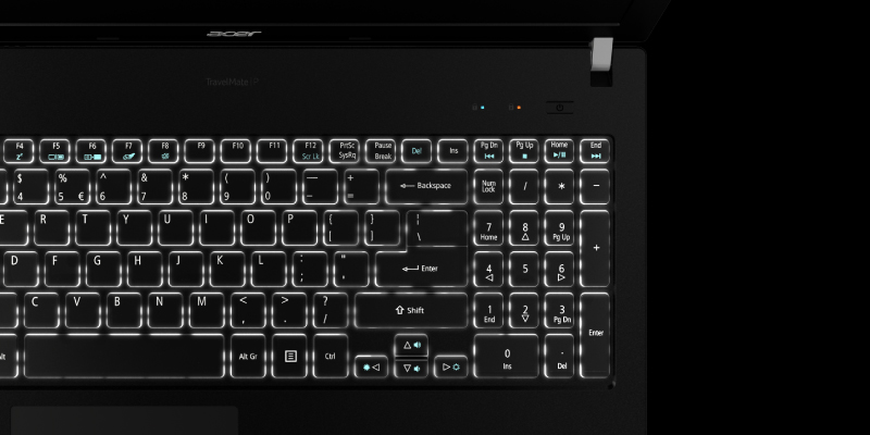 TravelMate P6 CH - Backlit Keyboard