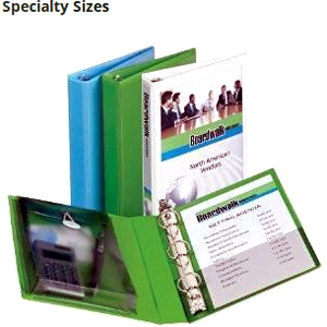 Get on-the-go organization with a mini binder for 5-1/2 inch x 8-1/2 inch paper that's perfect for purses, briefcases and bags.