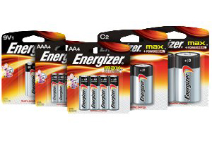 Energizer MAX® Alkaline Batteries