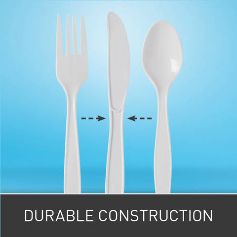 Heavy Weight Polypropylene is strong and shatter resistant.