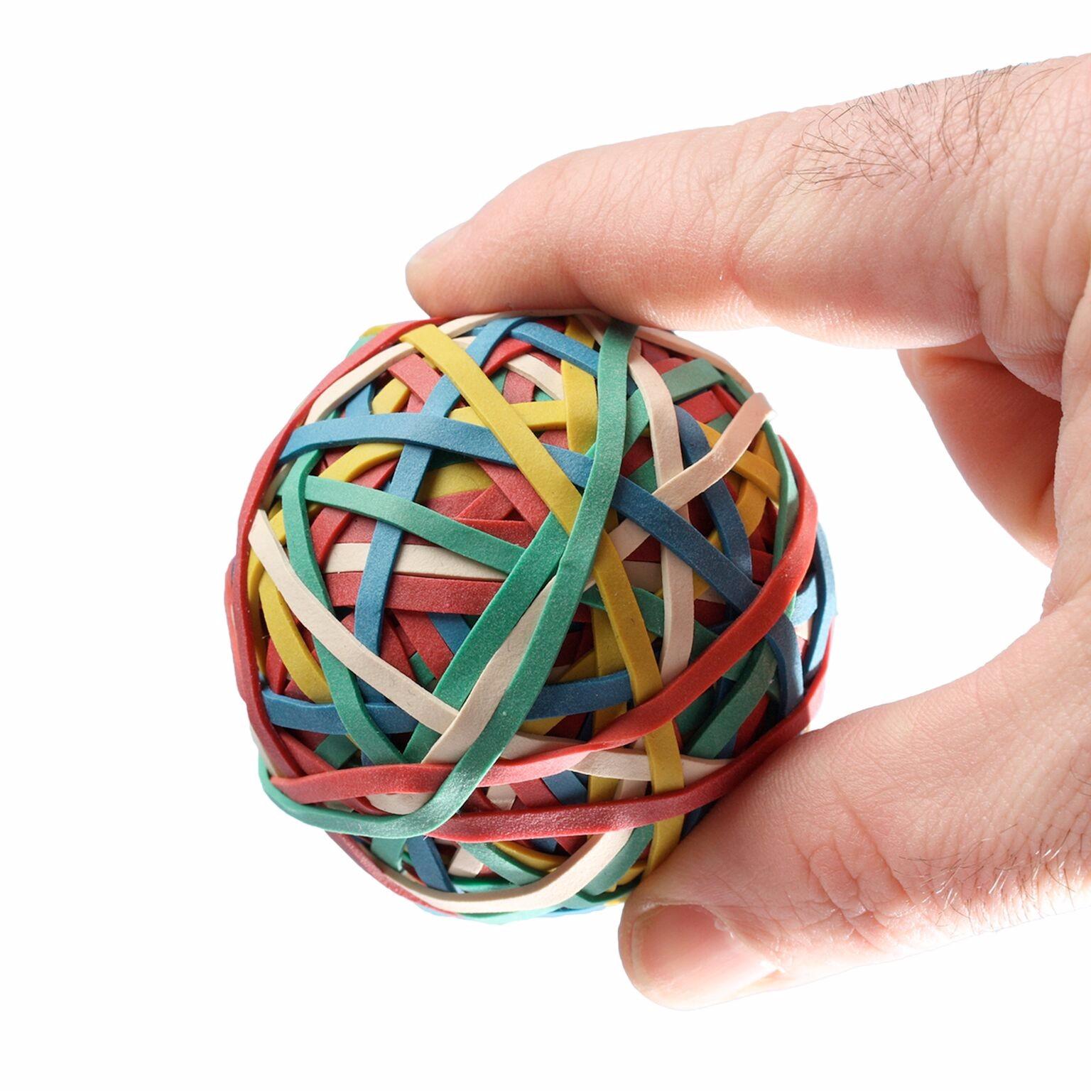 Advantage® Rubber Bands - Rubber Band Ball