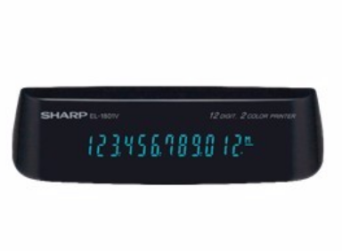 <center><b>Fluorescent, Easy to Read Display</b></br>Features 12-digit blue fluorescent display (12.0 mm)</center>