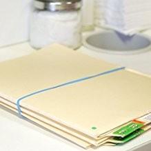 .25lb Box 7 x 1//8 Sz Antimicrobial Non-Latex Rubber Bands 117B