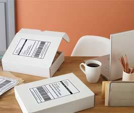 Internet Shipping Ready (Half-Sheet Labels)