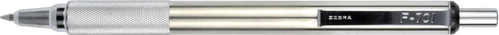 F-701 Retractable Ballpoint 0.7mm Black 1pk