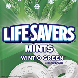 Life Savers Wint O Green Mints