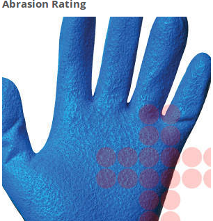 Jackson Safety G40 Foam Nitrile Coated Gloves have the highest EN388 abrasion rating. Plus, they keep the same rating, even after five trips through the wash.