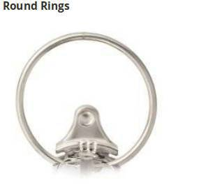 Store between 100 to 460 sheets with round rings between 1/2 inch and 3 inches.