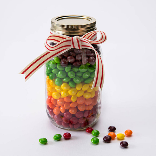 <b>Skittles Party Favors</b></br>Equal parts bold and bright, use the fruit-flavored rainbow of Skittles flavors as colorful party favors at your next celebration.