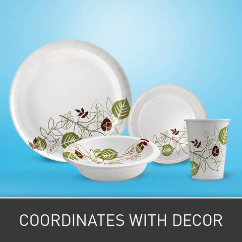 Designed to seamlessly coordinate with Dixie Pathways - cups, bowls, cartons and trays.