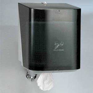 Kimberly-Clark Professional In-Sight Sr. Center-Pull Towel Dispenser, Black