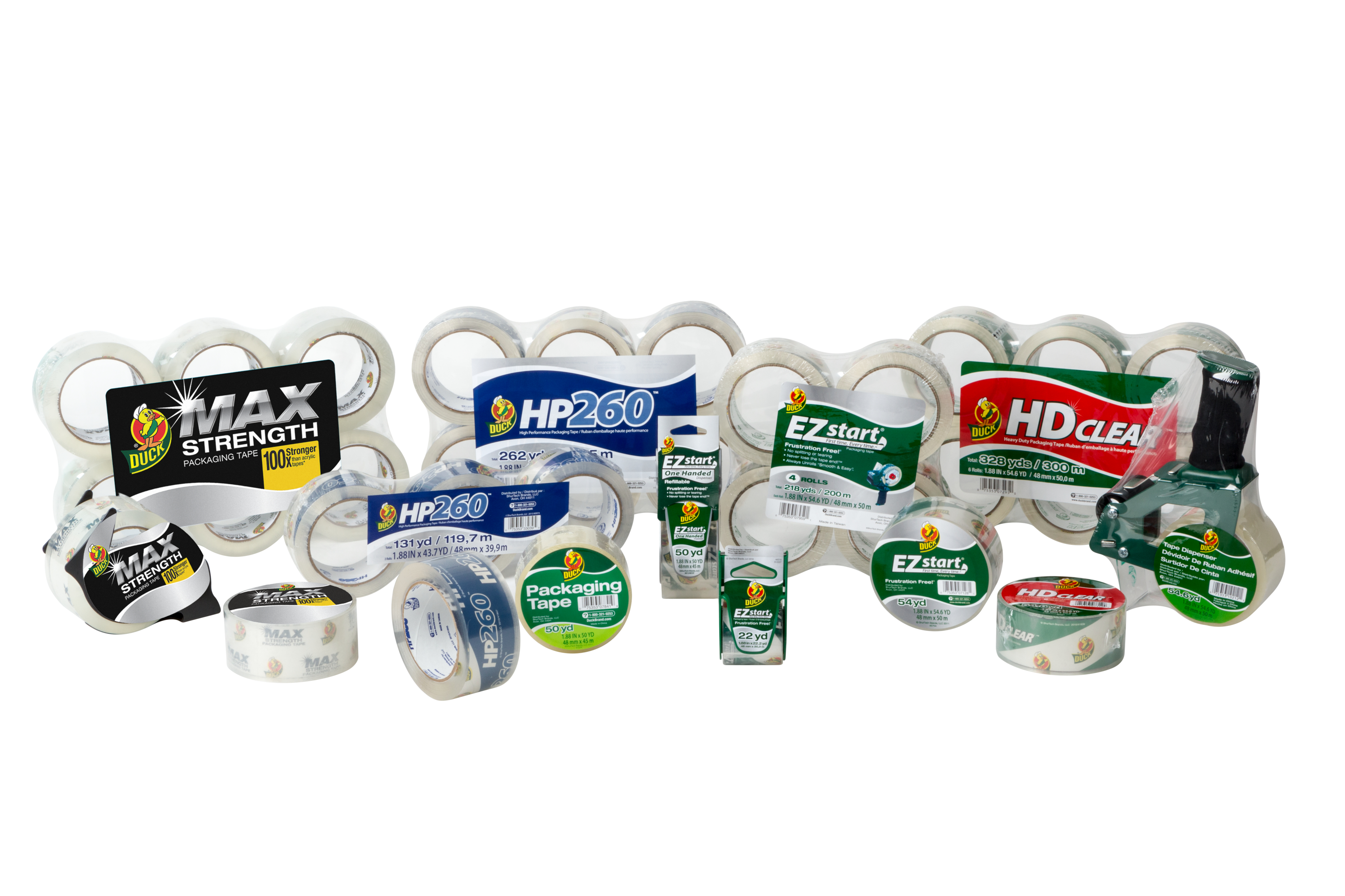 Duck Brand Packaging tapes