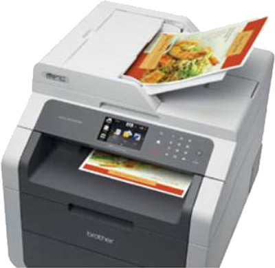 scanning multiple pages pdf brother 495cw