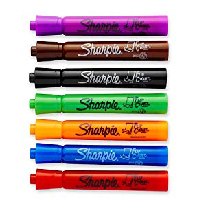 <b> Choose from 7 Bold Colors </b></br> Flip Chart Markers come in a range of vivid, rich colors to make every presentation pop.