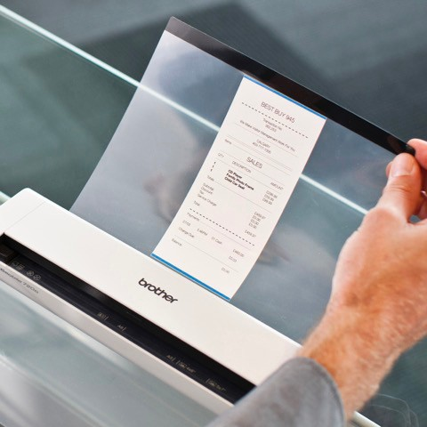Brother DSmobile DS-920DW - Sheetfed Mobile Scanner - Duplex