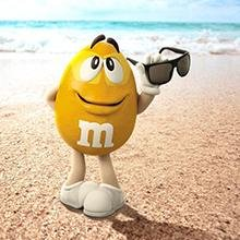 <b>Travel in Style</b></br>M&M'S Peanut Chocolate Candy is great, anytime and anywhere. Pack a bag (or two) for your next vacation or road trip.