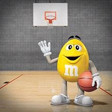 <b>Reward the Team</b></br>After a tough workout or game, treat yourself and your teammates to the delicious taste of M&M'S Peanut Chocolate Candy.