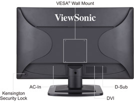 <br></br>VESA compliance provides flexible mounting options